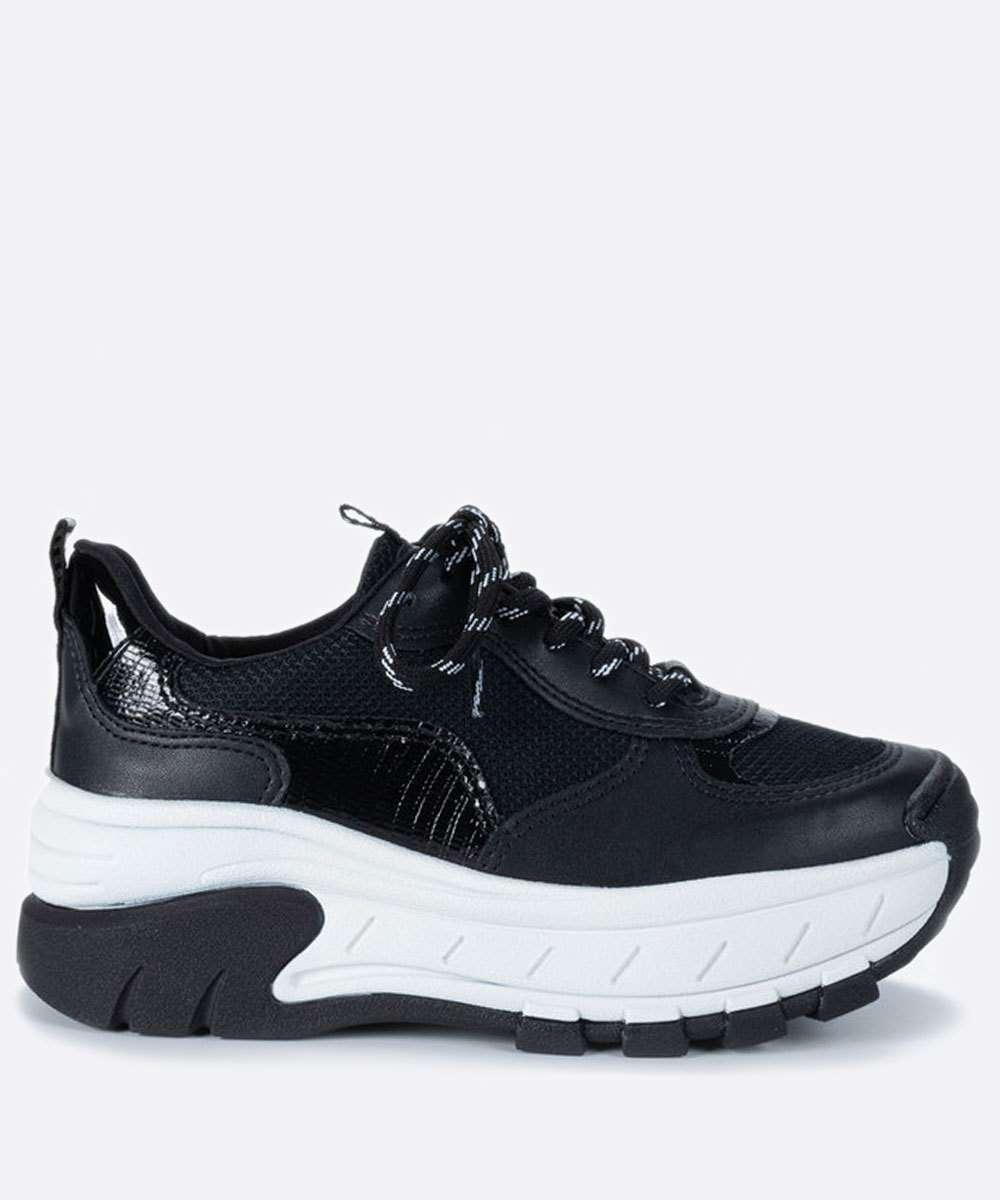 Tênis Feminino Sneaker Tratorado Recorte Dakota
