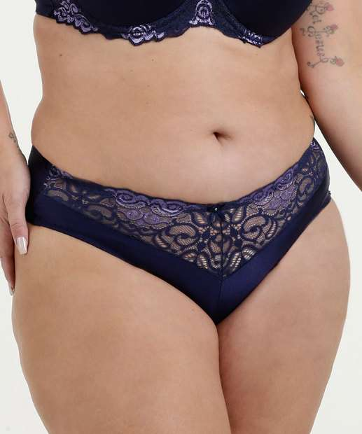 Image_Calcinha Feminina Biquíni Recorte Renda Plus Size DeMillus