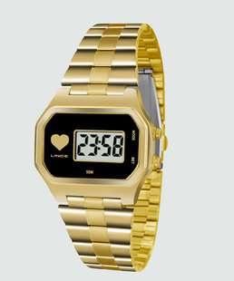 0f7f25b86fb Relógio Feminino Digital Lince SDPH065L BPKX