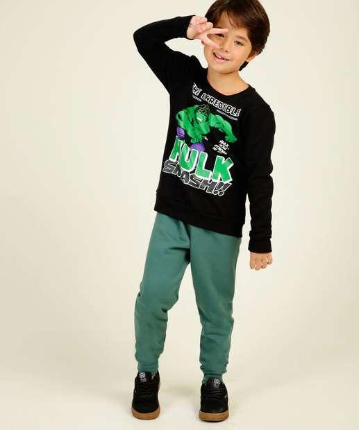 Image_Conjunto Infantil Moletom Hulk Marvel Tam 4 a 10