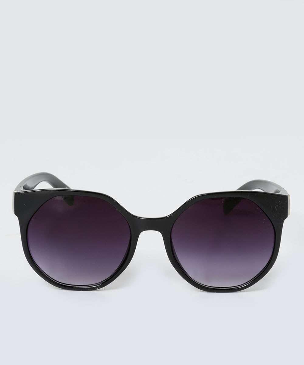 7c8f03b42ca77 Óculos Feminino de Sol Redondo Marisa   Marisa