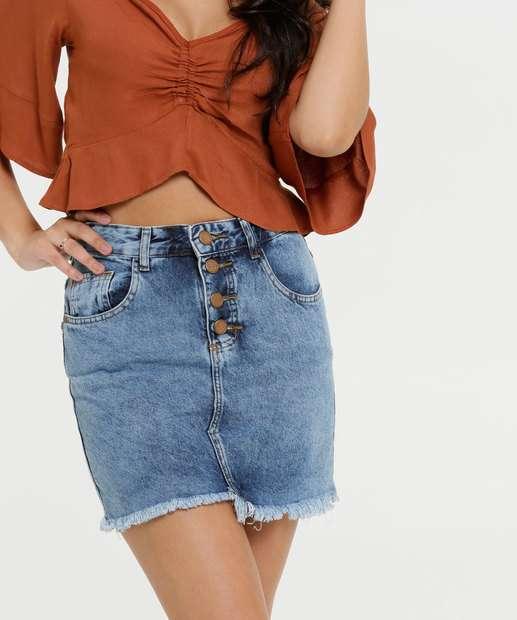 Image_Saia Feminina Barra Assimétrica Zune Jeans
