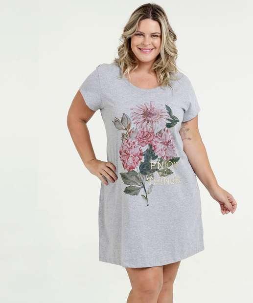Image_Camisola Feminina Estampa Frontal Plus Size Marisa