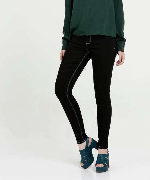 Image_Calça Feminina Sarja Skinny Stretch Five Jeans