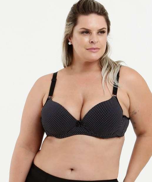 Image_Sutiã Feminino Estampa Bolinhas Plus Size Marisa