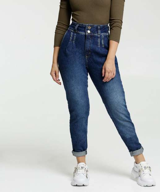 Image_Calça Mom Feminina Zune Jeans By Sabrina Sato