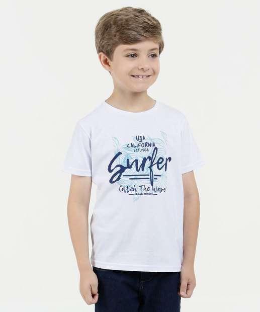 Image_Camiseta Infantil Estampa Coqueiro Manga Curta Marisa
