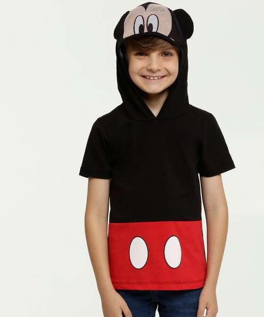 Image_Camiseta Infantil Estampa Mickey Capuz Disney