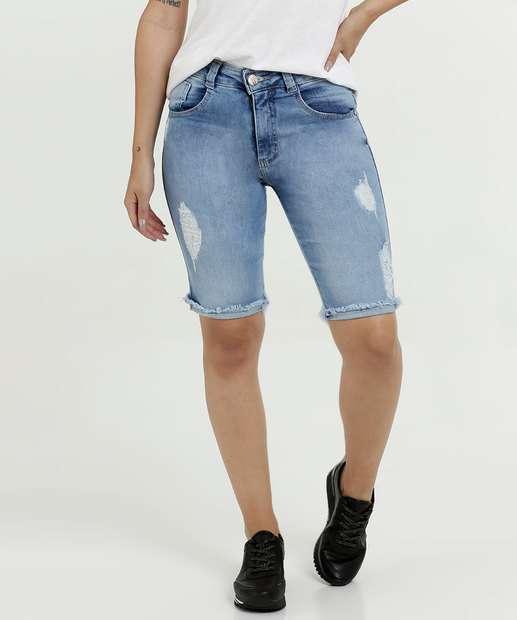Image_Bermuda Feminina Jeans Puídos Biotipo