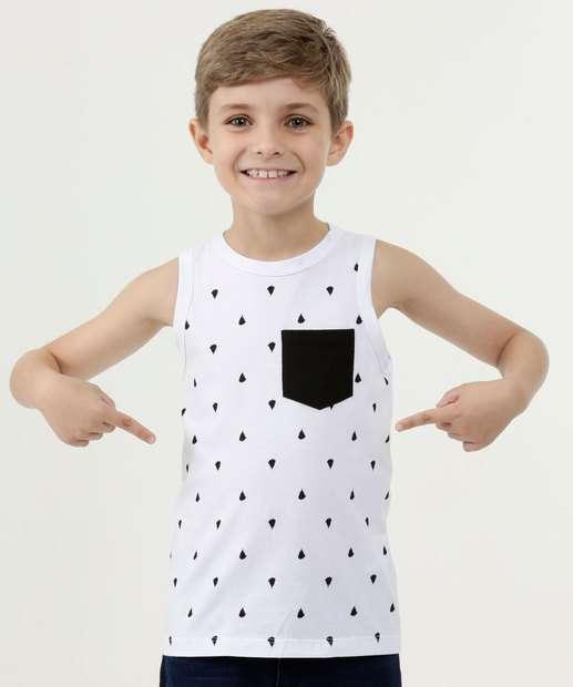 Image_Regata Infantil Estampada Bolso MR