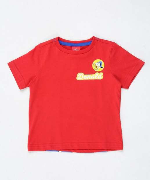 Image_Camiseta Infantil Estampa Pato Donald Disney