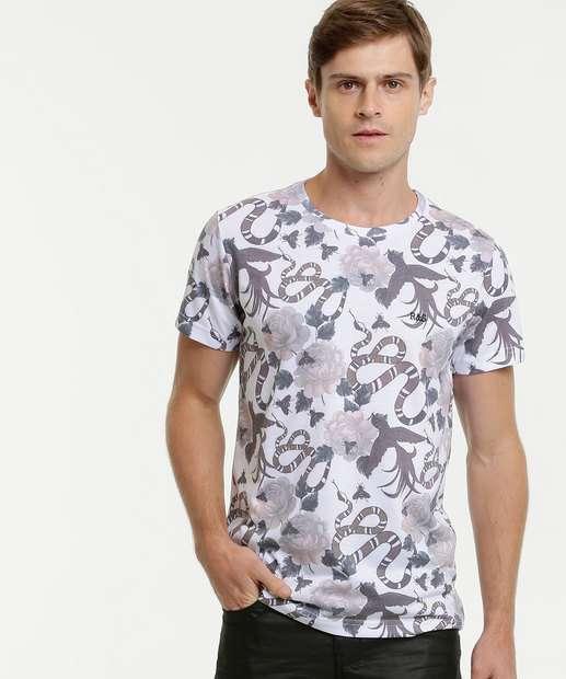 Image_Camiseta Masculina Estampada Rock & Soda
