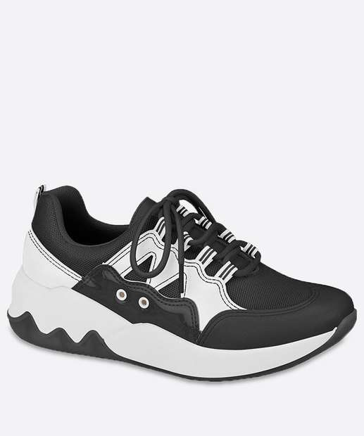 Image_Tênis Feminino Chunky Sneaker Recorte Beira Rio