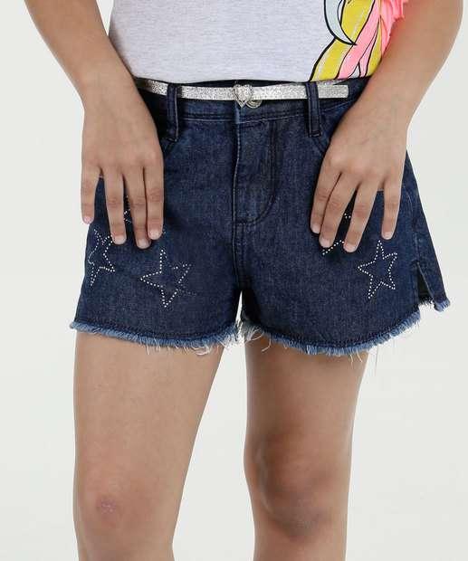 Image_Short Infantil Jeans Estrela Marisa