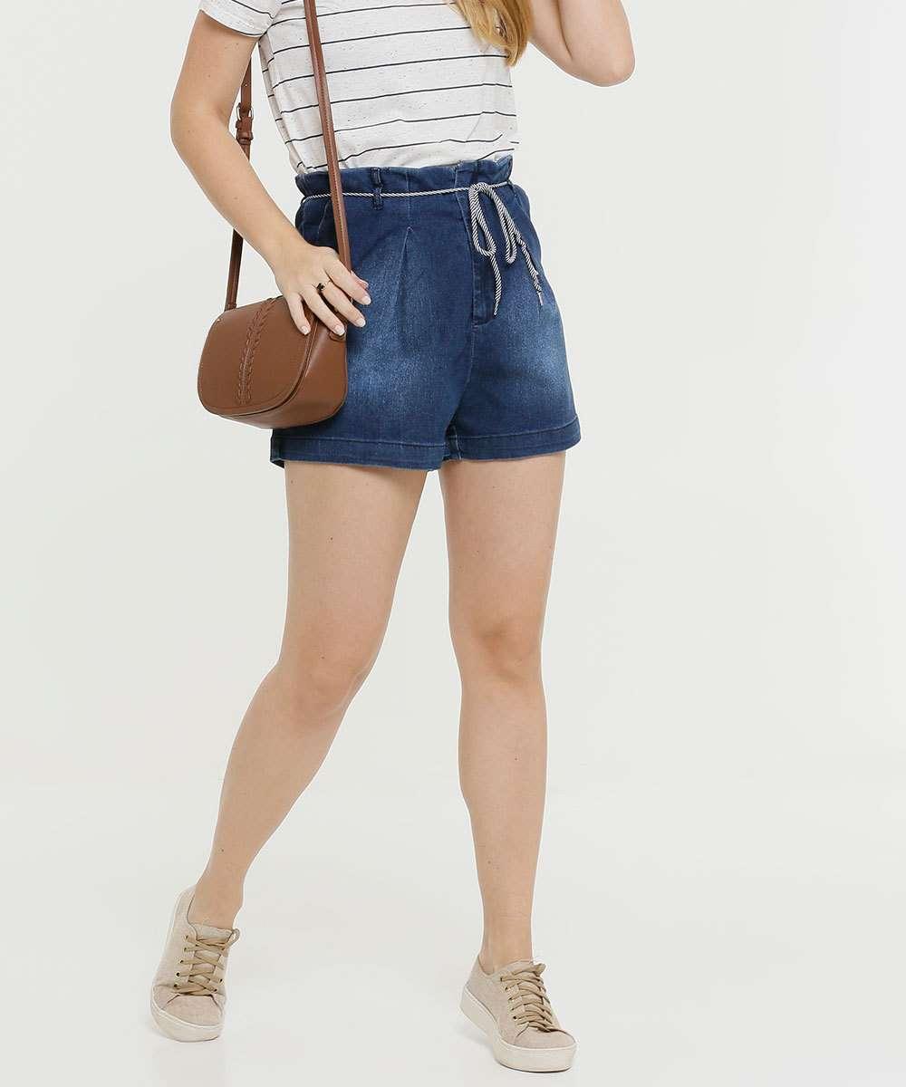 Short Jeans Feminino Feminino Clochard Razon