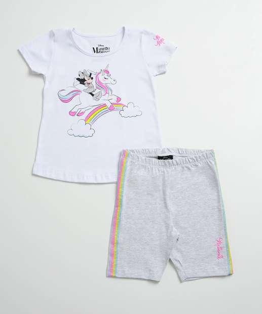 Image_Conjunto Infantil Neon Estampa Minnie Glitter Disney
