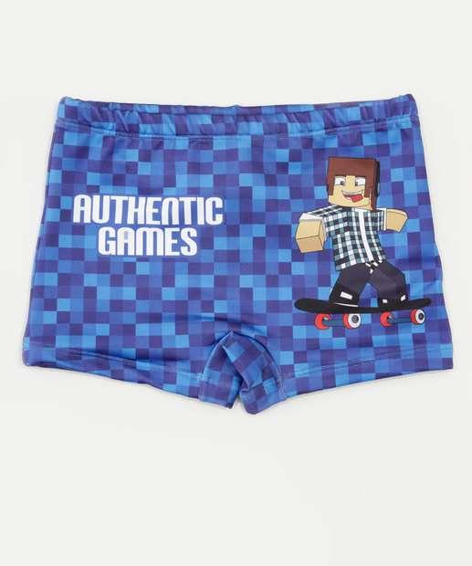 Image_Sunga Infantil Estampada Authentic Games