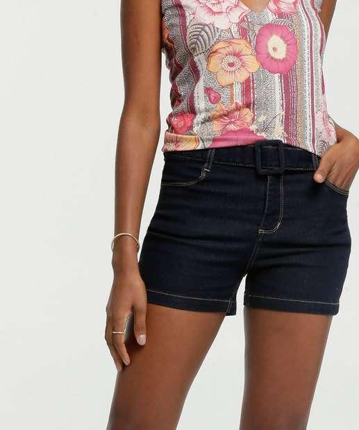Image_Short Feminino Jeans Stretch Cinto Marisa