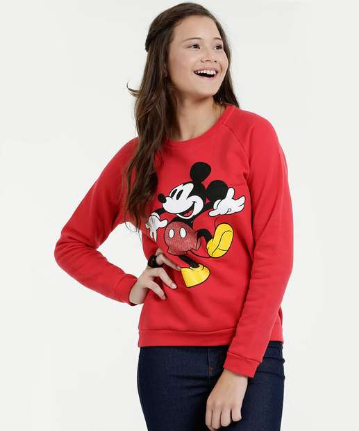 Image_Blusão Juvenil Estampa Mickey Disney