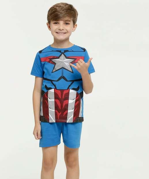 Image_Pijama Infantil Estampa Capitão América Marvel