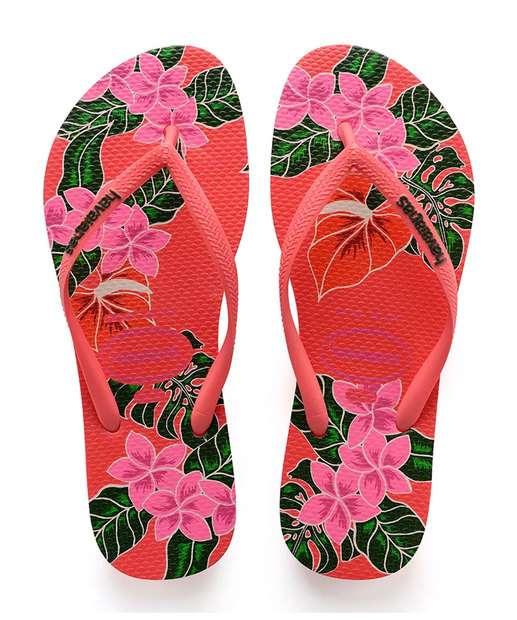 Image_Chinelo Feminino Havaianas Slim Floral