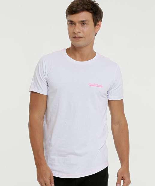 Image_Camiseta Masculina Bordado Manga Curta Rock & Soda