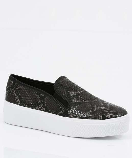 Image_Tênis Feminino Slip On Estampa Animal Print Via Uno
