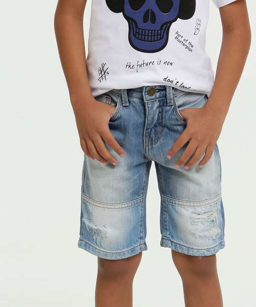 Image_Bermuda Jeans Infantil Destroyed MR