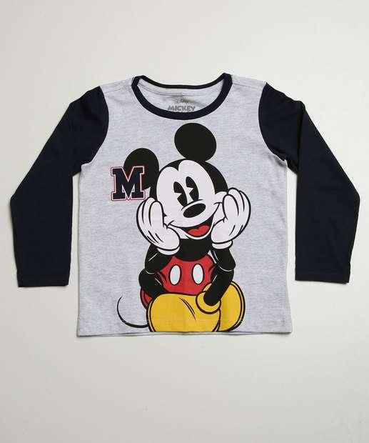 Image_Blusa Infantil Estampa Mickey Disney Tam 1 a 4