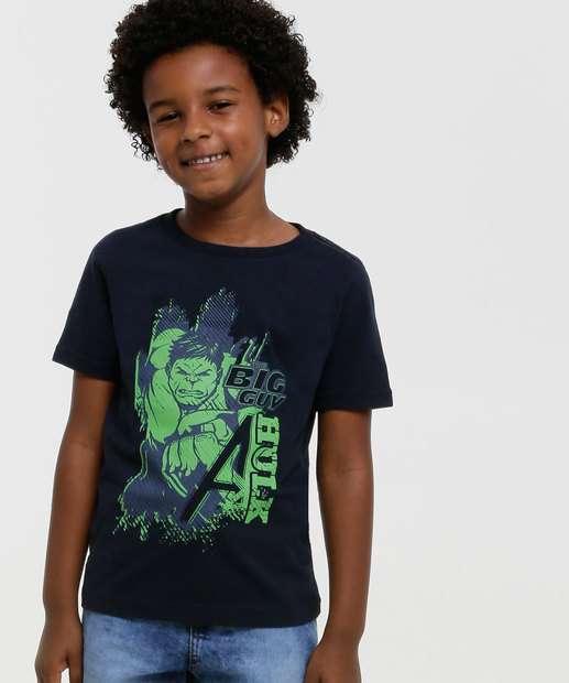 Image_Camiseta Infantil Manga Curta Hulk Marvel Tam 4 a 10