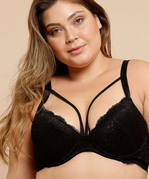 Image_Sutiã Feminino Renda Strappy Plus Size Marisa