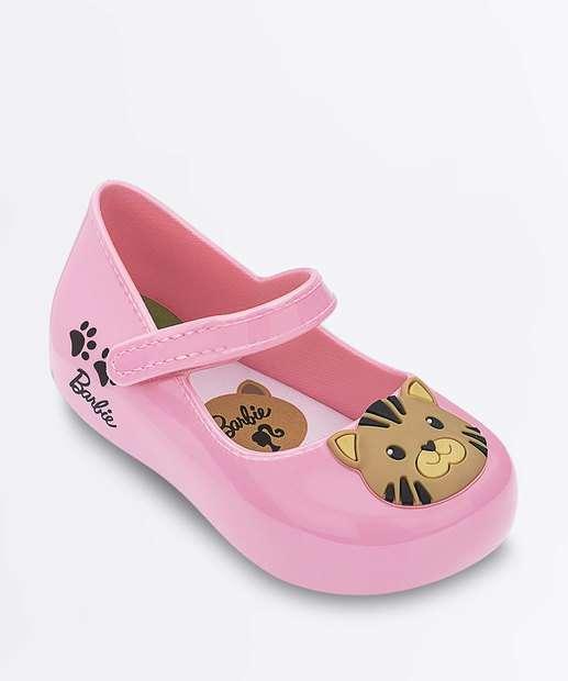 c354ee8854 Sapatilha Infantil Boneca Barbie My Friends Grendene Kids
