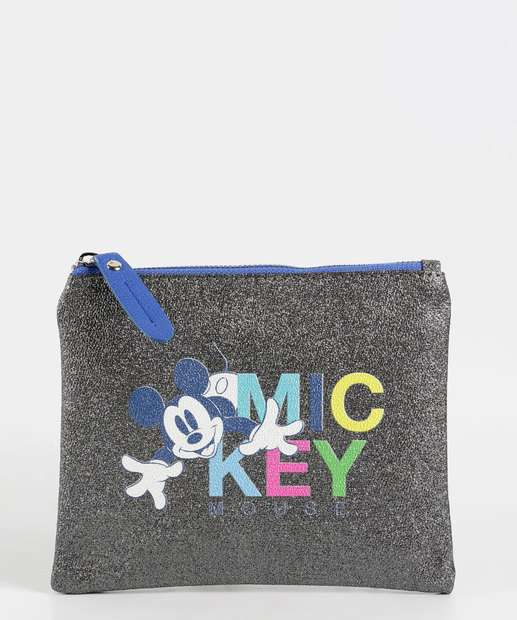 Image_Necessarie Feminina Metalizada Estampa Mickey Disney