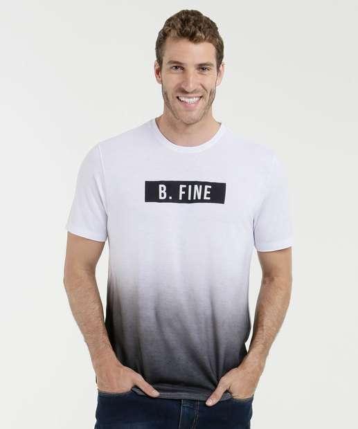 Image_Camiseta Masculina Estampa Frontal Degradê Manga Curta Mr