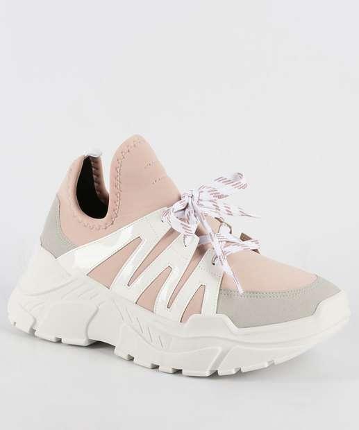 Image_Tênis Feminino Chunky Sneaker Zatz Z258215984