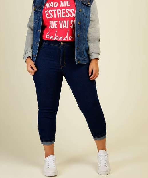 Image_Calça Plus Size Feminino Jeans Skinny Razon