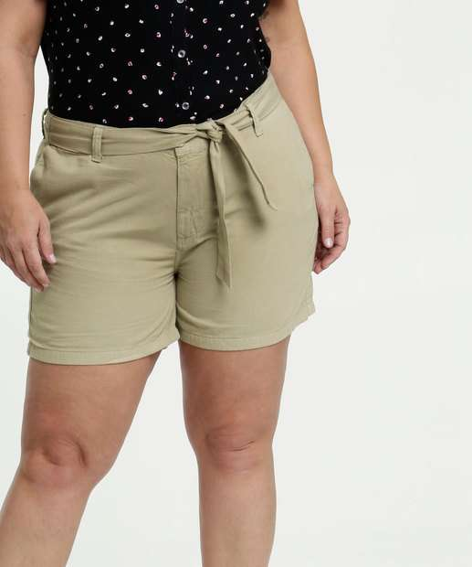 Image_Short Feminino Sarja Clochard Plus Size