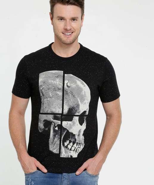 Image_Camiseta Masculina Botonê Estampa Caveira MR