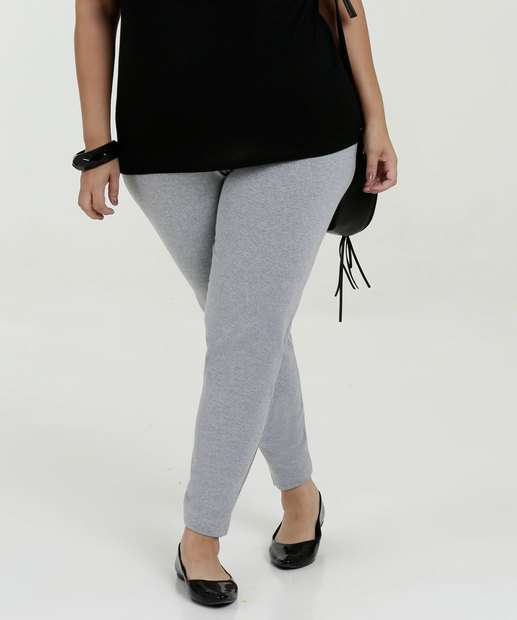 5913b0d61 Calça Feminina Legging Plus Size Marisa