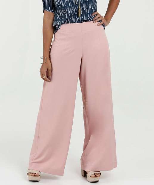 d5ef9b647 Calça Feminina Social Crepe Pantalona Marisa