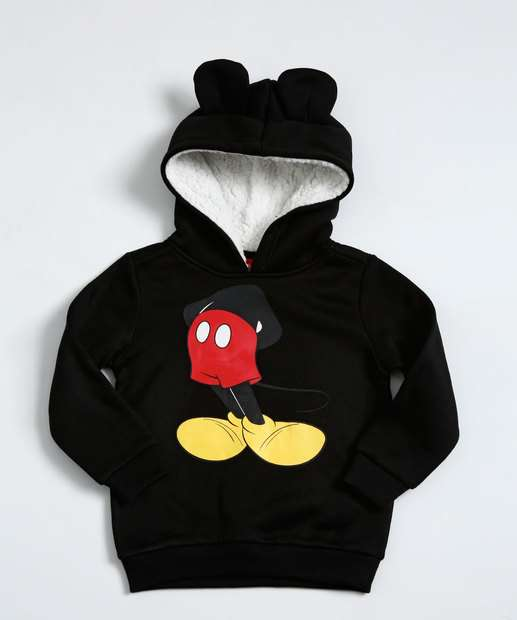 Image_Blusa Infantil Moletom Estampa Mickey Disney