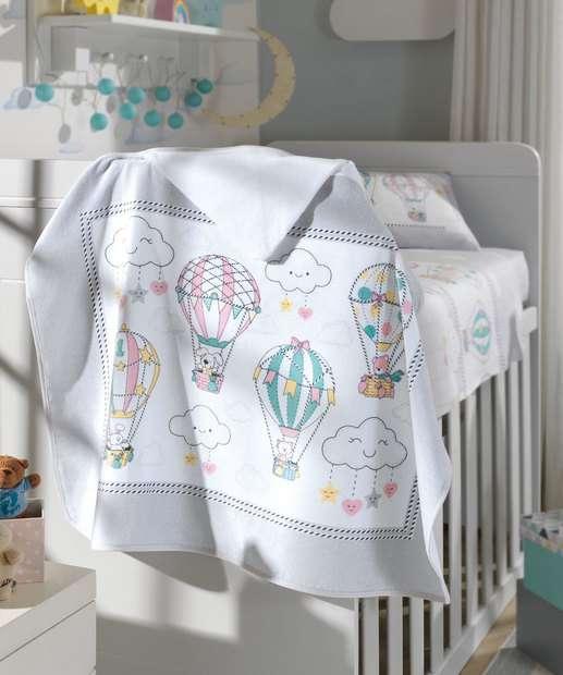 Image_Toalha de Banho Infantil Estampa Balões Döhler