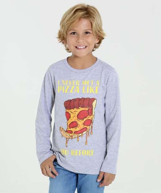 Image_Camiseta Infantil Estampa Frontal Longa Marisa