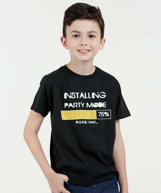 Image_Camiseta Infantil Estampa Frontal Eagle Brazil