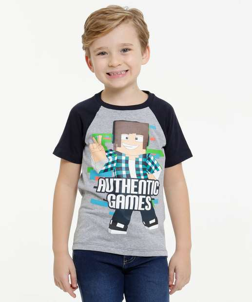 Image_Camiseta Infantil Brinde Authentic Games Tam 4 a 10