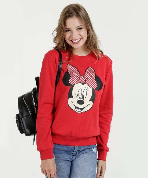 Image_Blusão Feminino Moletom Estampa Minnie Disney