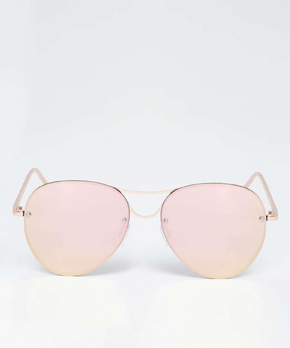 d467fbac3b254 Óculos de Sol Feminino Aviador Marisa