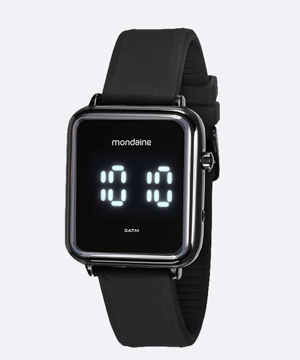 Relógio Masculino Digital Led Mondaine 32151GPMVPI2