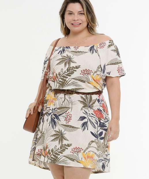 Image_Vestido Feminino Ombro A Ombro Floral Plus Size Marisa