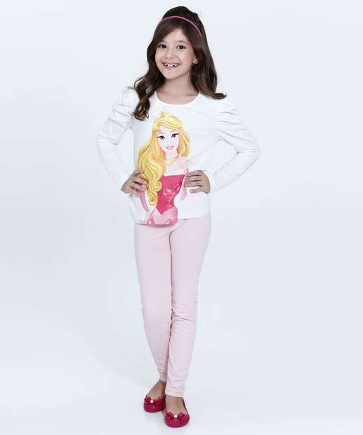 Image_Conjunto Infantil Estampa Princesa Aurora Disney